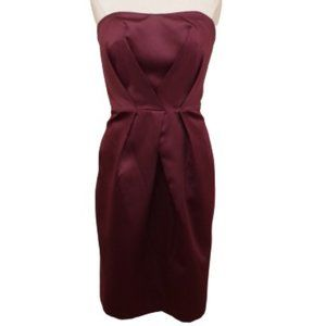"""Alfred Angelo """"Grape"""" Cocktail Satin Dress NWT- 10"""